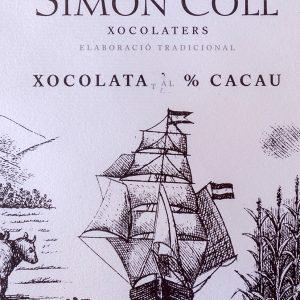Chocolate Simón Coll.