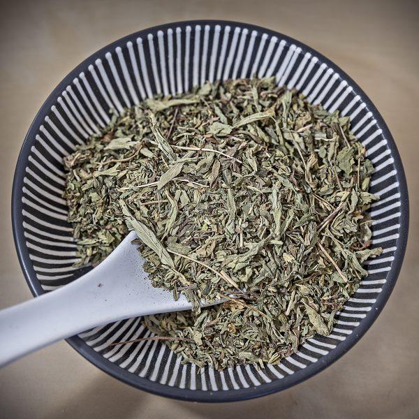 Stevia en hoja
